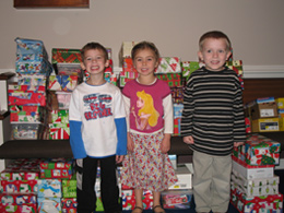 Operation Christmas Child Windsor Christian Preschool Missions Project