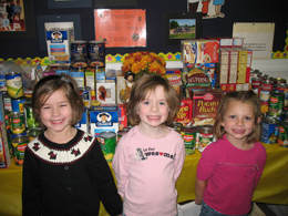 Missions Projects at Windsor Christian Preschool